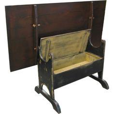 den Hoad Hutch Table --////-- hidden storage
