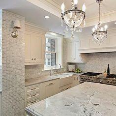 Moonlight Quartzite Countertops, Transitional, kitchen, 2 Design Group
