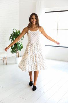 Dakota Ivory Dress