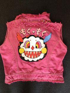 Puella Magi Madoka Magica Punk Jacket - Back