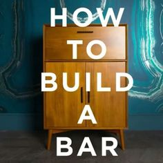 How to build a bar  Via @westelm #design #interiordesigner #howto #diy #home #homedecor #houseinterior #inspo #inspiration #inspire #designer #decor #decoration #fashion #fashionaddict #style #bar #create #creation #tags4likes #instadaily #instagood