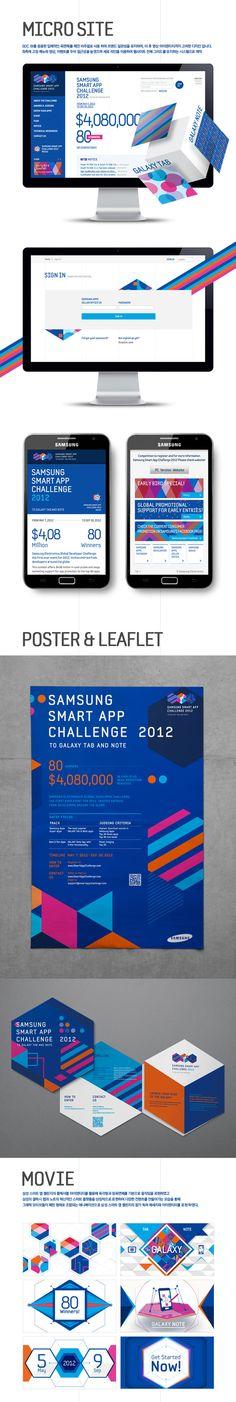Samsung Developers Brand eXperience Design by Plus X, via Behance