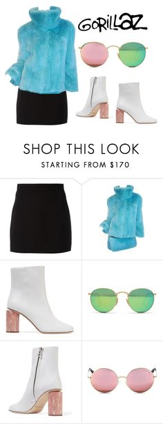 """""""Noodle Saturn Barz"""" by hollow-opal ❤ liked on Polyvore featuring Givenchy, Dolce&Gabbana, Acne Studios, Ray-Ban, Michael Kors, chic, fancy, gorillaz, stage and Noodle"""