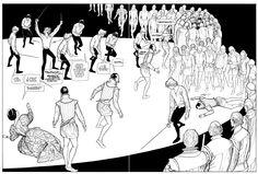 Gianni De Luca: continuità del tempo e vignette implicite