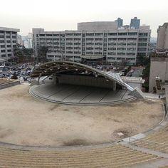한양대학교 노천극장 Seoul Han-Yang University open air theater…