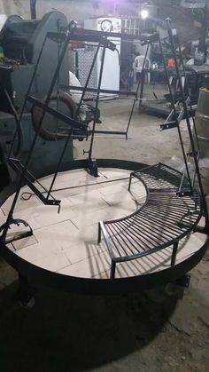 asador criollo con parrilla Fire Pit Grill, Fire Pit Backyard, Outdoor Fire, Outdoor Living, Asado Grill, Parrilla Exterior, Custom Bbq Pits, Fireplace Art, Patio Grill