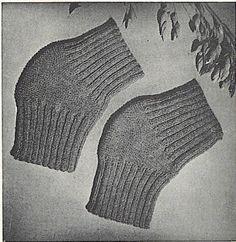 Pattern Vintage Knee Warmer and Cast Cover or Toe от NanasKnits