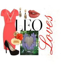 I'm a Leo! :) by ruaorlia13 on Polyvore featuring styles by ~  Jessica Simpson Oscar de la Renta & Givenchy Coach