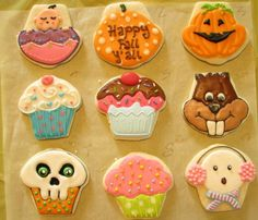 Cupcake Designs Using The Cupcake Cutter (2nd)