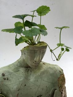 contemporary art Mixed media sculpture by Peruvian contemporary artist Emil Alzamora Mint Green Aesthetic, Shades Of Green, Picture Wall, Wall Collage, Aesthetic Pictures, Art Inspo, Artsy, Colours, Human Figures