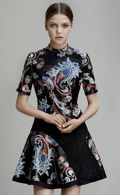 Get inspired and discover Mary Katrantzou trunkshow! Shop the latest Mary Katrantzou collection at Moda Operandi. Greek Fashion, Mary Katrantzou, Summer Trends, All About Fashion, Paisley, Dress Up, Gowns, Style Inspiration, Fall Collections