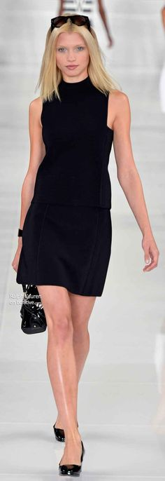 Ralph Lauren Spring 2014 Ready to Wear #NYFW