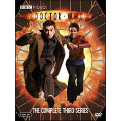 Doctor Who Third Series 2007 DVD. Stars David Tennant as the doctor.
