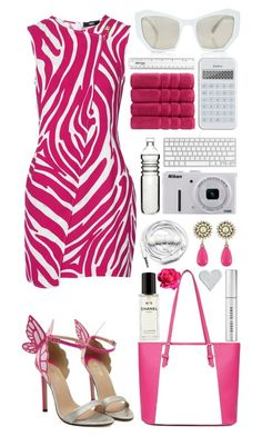 """""""""""Simplicity is the keynote of all true elegance."""""""" by laurasuursepp ❤ liked on Polyvore featuring Versus, Christy, Prism, Nikon, Dot & Bo, Urbanears, Bobbi Brown Cosmetics, Valérie Casado, Chanel and women's clothing"""