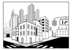 Make an Establishing Shot Using the Perspective Grid Tool in Adobe Illustrator
