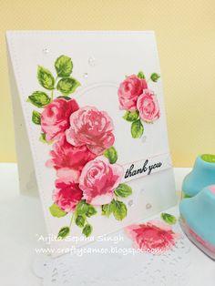 Vintage roses altenew