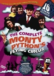 The Complete Monty Python's Flying Circus 16 Ton Megaset 1982 Live Sketches More