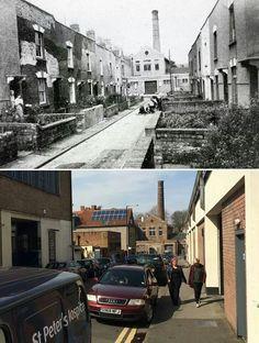 Dean street, Bedminster 1960 and 2014 City Of Bristol, Bristol Uk, Bristol England, North Somerset, Hill Station, Old Photos, Dean, Street View, London