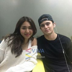 "Makin penasran sama project baru mereka 😍 #JaDine #onthewingsoflove @Regrann from @leigh_p311 - ""Hubby, Hubby""- Nadine 😍  James Reid and Nadine Lustre visited the Viva HQ today! 🌹   #Jadine #Jadine💜 #NadineLustre #JamesReid #TeamReal ©viva_records"