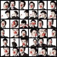 David Tennant: the only man who can look attractive with a clown nose.