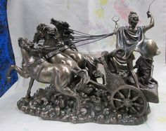 apollo and diana on chariot