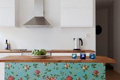Renovation Inspiration: Wallpapered Kitchens