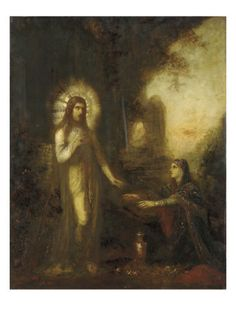 Christ and Mary Magdalene Giclee Print