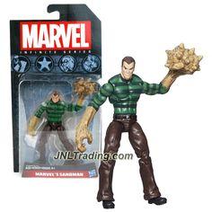 Hasbro Year 2014 Marvel Infinite Series 4 Inch Tall Action Figure - MARVEL'S SANDMAN (William Baker)