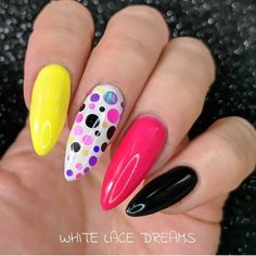 Fabulous #naildesign featuring #nailart #glitter dots only 75p a pack available in 12 different colours. #nails #nailstagram #nailswag #naildesigns #nails2inspire #nailsart #glitternails #beauty