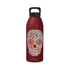 http://www.zazzle.com/psychedelic_day_of_the_dead_skull_water_bottle-126843736232635834?rf=238269221723562913 ***Please use this original link when purchasing so I get cred for spreading the love! Thanks! And happy shopping!***