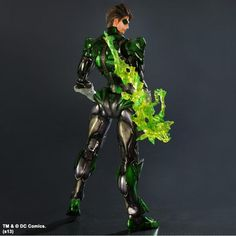 Official Play Arts Kai Wonder Woman, Batman And Green Lantern Figure Images Arrive - ComicsAlliance | Comic book culture, news, humor, commentary, and reviews