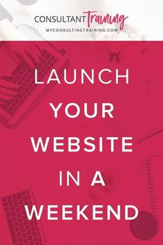 How to launch your website in a weekend. Are you ready to grow your direct sales business to the next level? By adding your own website to your Facebook strategy you can gain new clients, increase sales, generate leads while you sleep. Get 6 step by step modules INSTANTLY, your OWN website template Consultant Business, Marketing Consultant, Online Work From Home, Work From Home Moms, Home Based Business, Online Business, Direct Sales Tips, Network Marketing Tips, Working Mom Tips