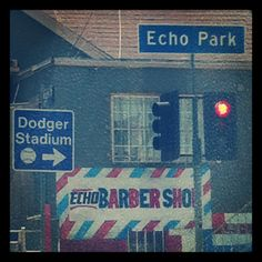 Echo Park, Los Angeles - Home of the Dodger! Whittier Blvd, Baseball Wallpaper, I Love La, Park Pictures, Valley Girls, City Of Angels, Shop Fronts, California Love, Los Angeles Homes