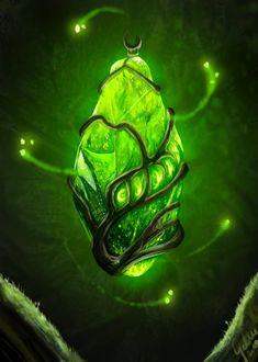 The Essence of Nature by Galder on DeviantArt Dark Fantasy Art, Fantasy Artwork, Fantasy World, Magia Elemental, Elemental Magic, Elemental Powers, Magic Bottles, Weapon Concept Art, Fantasy Weapons