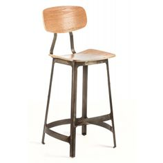 Habitus Bar Stool — Our best-selling Habitus Chair, now as a bar stool! With curves in all the right places, you get sleek support and unquestionable style.