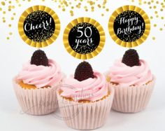 Image result for 50th birthday cupcakes for him