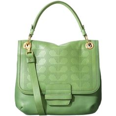 Perforated Stem Ivy Bag ($387) ❤ liked on Polyvore