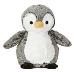"Aurora World Sweet and Softer Perky Penguin 9.5"" Plush Aurora World http://www.amazon.com/dp/B00B4WJB26/ref=cm_sw_r_pi_dp_pNEFub09S4QQG"