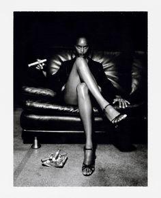 Helmut Newton. polaroid  ❤Photog [◎°] Polaroid❤