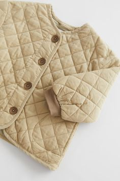 Cute Kids Fashion, Toddler Fashion, Baby Kids Clothes, Zara Baby Clothes, Little Fashionista, Kids Coats, Stylish Kids, Padded Jacket, Quilted Jacket
