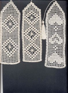 Filet crochet bookmarks image only Filet Crochet, Diy Crochet And Knitting, Crochet Cross, Thread Crochet, Crochet Gifts, Crochet Stitches, Crochet Quilt Pattern, Crochet Bookmark Pattern, Crochet Bookmarks