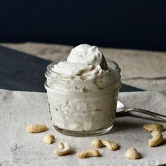 Vegan Cashew Yogurt