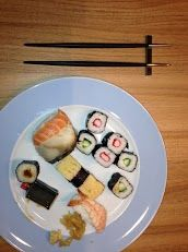 Sushi en strak bestek