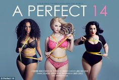Fashion mavens: Plus-size models Elly Mayday (center), Laura Wells (left) and Kerosene Deluxe (right) are the subjects of a new Canadian documentary 'A Perfect 14'