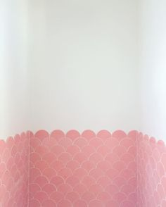 Fireclay Tile Ogee Drops In Our Matte Pink Stilbite