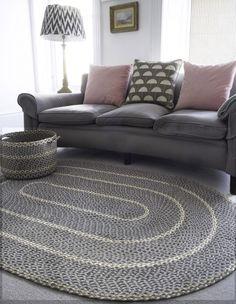 Best 12 Quality Braided Rugs from The Braided Rug Company, UK Crochet Carpet, Crochet Home, Diy Carpet, Rugs On Carpet, Hall Carpet, Carpets, Braided Rag Rugs, Free Crochet Bag, Crochet Rug Patterns