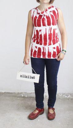 Anniina Isokankaan suunnitelemasta Aita-kuosista paita