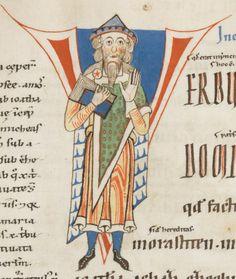 Engelberg, Stiftsbibliothek, Cod. 76: Expositio S. Hieronymi duodecim prophetarum · 1143-1178 Langue:Latin      (http://www.e-codices.unifr.ch/fr/list/one/bke/0076)