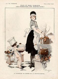 René Vincent 1917 ''Pour un soir, oublions...'' Maid