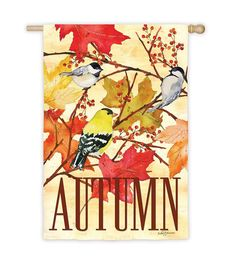 Fall Feast House Flag | Seasonal Flags | Plow & Hearth